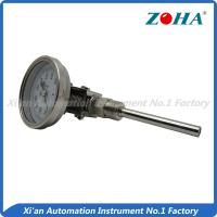 Wholesale Universal Mount Industrial Bimetal Thermometer / Mini Dial Faced Bimetal Thermometer from china suppliers