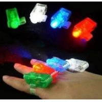 Wholesale Red, White, Blue, Green Color Laser Finger Beams LED Lights Toy 4 Piece Set from china suppliers