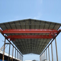 Wholesale Workshop 20 Ton Mobile Overhead Single Girder Crane from china suppliers