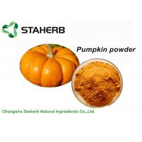 Wholesale Dehydrated Organic Pumpkin Protein Powder Yellow Color Food Product ISO Certified from china suppliers