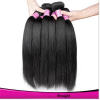 Hot Sales Black Hair Weft Straight Virgin Brazilian Hair Natural Color Black Hair for sale