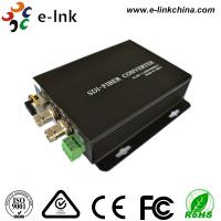 Wholesale 20 Km Hd Sdi To Fiber Optic Converter Single Mode 0 - 400K/Bps Frequency from china suppliers