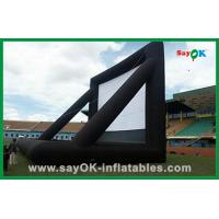Wholesale Advertising Inflatable Movie Screen / Inflatable Tv Screen For Outdoor Party from china suppliers