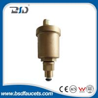 Wholesale 15mm brass water  radiator valve automatic air vent valve with check valve ,Vertical adjusting air vent valve from china suppliers