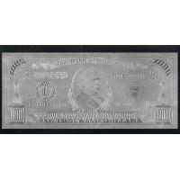 Wholesale $1000 Silver Banknote from china suppliers