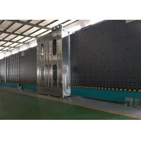 Quality Low E Insulating Glass Production Line Frequency Control With 6 Soft Hair Brushes for sale