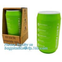 Wholesale Coffee cup, PLA compostable cups, water cup, compostable cupcake coffee, disposable coffee cup from china suppliers