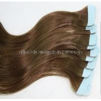 Body Wave Hand Tied Skin Weft Tape Hair Extension (EM069) for sale
