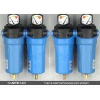 China compressed air dryer filter / dust filtering , high pressure air filter on sale