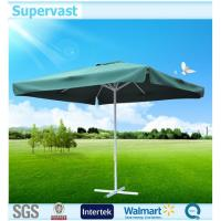 China Water / Wind Reistance Strong 3x3M Square Patio Umbrella , Outdoor Market Umbrellas on sale