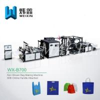Wholesale Full Auto Nonwoven Bag Making Machine / Automated D Cut Bag Making Machine from china suppliers
