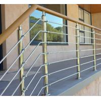 Wholesale Exterior prefab railing stainless steel inox rod railing design for porch from china suppliers