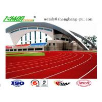 Buy cheap synthetic running track Spray Coating System or Paint System Running Track for Track Field from Wholesalers