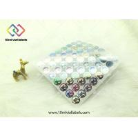 Wholesale 20mm Round Shape Disposable Holographic Sticker Paper With Custom Logo from china suppliers