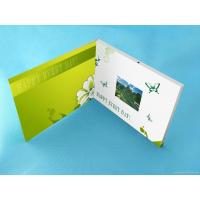 Wholesale Wedding Custom lcd video greeting card 7 Inch 16.7M brochure with video screen from china suppliers
