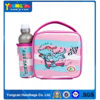 Buy cheap Factory directly supply Dongguan YoungSunStar Pink dinosaur insulated lunch coolor bag for school girls 26 23 10 from Wholesalers