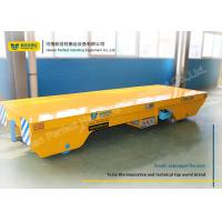 Wholesale Steel Rail Towed Cable Industrial Transfer Trolley For 1-300 Ton Transportation from china suppliers