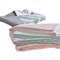 Wholesale New product printing knitted cotton blanket fabric factory china from china suppliers