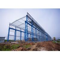 Wholesale Portal Frame Prefabricated Steel Structure Warehouse Fabrication Engineer Design from china suppliers