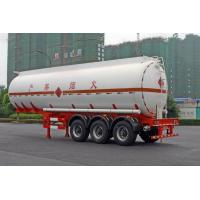 Wholesale Liquid Tank Truck / Liquid Gas Semi-Trailer Stainless Steel 38CBM 3axles from china suppliers
