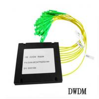 Wholesale 8CH Fiber Optic communication DWDM , Dense Wavelength Division Multiplexer from china suppliers