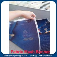 Wholesale Fabric Outdoor Mesh Banners Sign Fence Wrap from china suppliers
