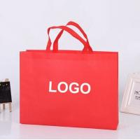 Wholesale Eco Friendly Custom Printed Non Woven Bags , Non Woven Fabric Carry Bags from china suppliers