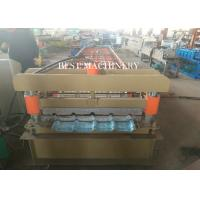 Cladding Profile IBR Metal Roofing Sheet Roll Forming Machine PLC Control
