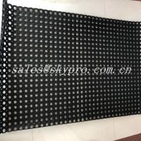 Wholesale Black Hole Type Hydrophobic Rubber Mats For Kitchen Workshop from china suppliers