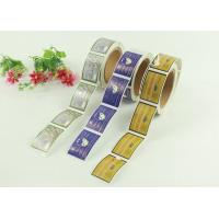 sticky self adhesive labels the printing as customize