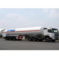 China 52600L LNG Tank Truck Trailer Tri Axles For Liquid Natural Gas Transport on sale