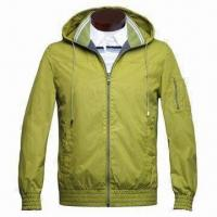 Wholesale Men's Reversible Spring Jacket, Made of 290T Nylon from china suppliers