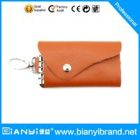 Wholesale Leather custom keychain key bag for lady from china suppliers