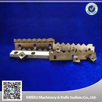 Wholesale HRC 56-58 Plastic Cutting Blade / Industrial Shredder Blades Small Thermal Deformation from china suppliers