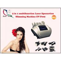 Wholesale 5 in 1 multifunction Laser liposuction Slimming Machine EV-F009 from china suppliers