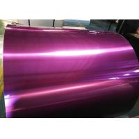 Wholesale Hard Pre Painted Aluminum Coil , Abrasive Resistant Aluminum Sheet Metal Rolls  from china suppliers