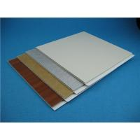 Buy cheap Customized Colour and Various Size PVC Wall Cladding for Construction from wholesalers