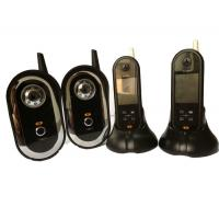 Wholesale 2.4GHZ Wireless Colour Video Doorphone , Villa Long Distance Door Bell from china suppliers