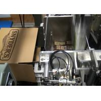 Wholesale Electric Auto Carton Box Packing Machine , Salt and Sugar Case Packer from china suppliers