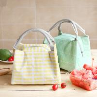 Wholesale Reusable Soft Insulated Cooler Bag Large Capacity With Linen Fabric Material from china suppliers