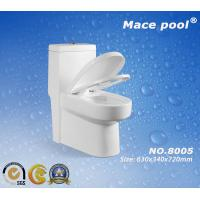 Wholesale Ceramic One Piece Toilet Siphonic Flushing Toilet  (8005) from china suppliers