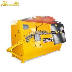 China Automatic Steel wire bar bending machine/iron rebar Stirrup bender and cutter machine on sale
