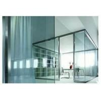 China Decorative toughened Double Glazing fully tempered Glass Curtain Wall on sale