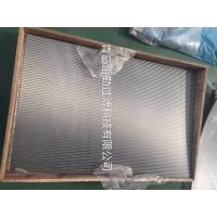 Wholesale Flat Panel Wedge Wire Sieve Filters For Solid - Liquid Separation / Chemical Industry from china suppliers