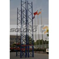 Wholesale High Efficiency Supermarket Storage System Single / Double Sided from china suppliers