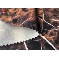 China Windproof Waterproof Outdoor Fabric Printed 4 Way Stretch Fabric Bonded Transparent Film on sale