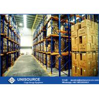 Quality High Density Drive Through Racking System , Warehouse Shelving Racks For Freezers for sale