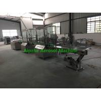 Wholesale Fully Automatic Aerosol Filling Machine For Filling Body Perfume, etc from china suppliers