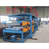 China 1250mm Width EPS Sandwich Panel Roll Forming Machine 28Kw for Warehouse on sale
