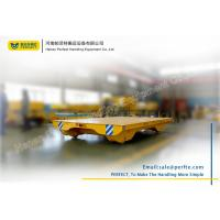 Quality Solid Railway Equipment Electric Heavy Load Cart Flat Car For Material for sale
